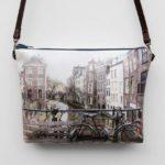 Bolso bandolera ecopiel Amsterdam