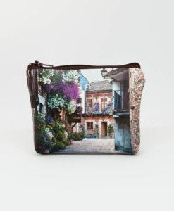 Monedero estampado Puebla de Sanabria